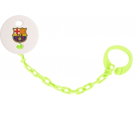 Attache-sucette FC Barcelone couleur Verte