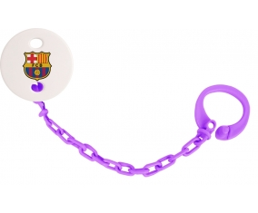 Attache-tototte FC Barcelone couleur Violet
