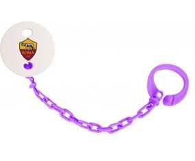 Attache-tétine As Roma couleur Violet