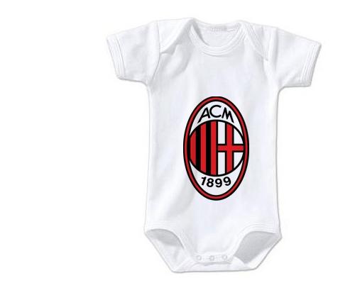 Body bébé Ac Milan 12/18 mois manches Longues