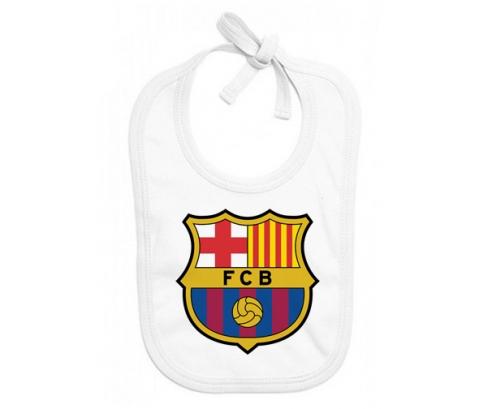 Bavoir bébé design FC Barcelone