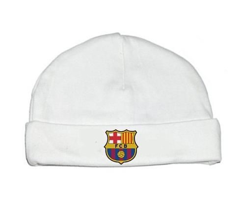 Bonnet bébé design FC Barcelone