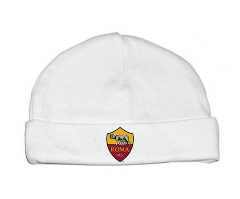 Bonnet bébé design As Roma