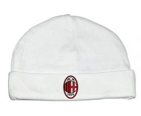 Bonnet bébé design Ac Milan