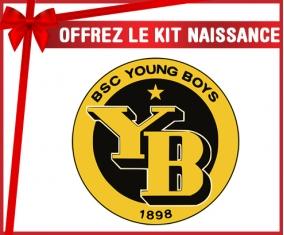 Kit naissance Young Boys Berne personnalisé pour bébé