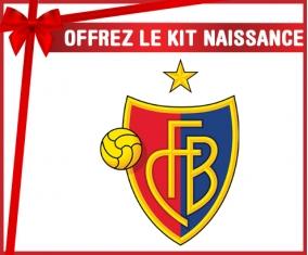 Kit naissance FC Bâle personnalisé pour bébé