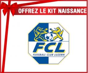Kit naissance FC Lugano personnalisé pour bébé