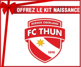 Kit naissance FC Thoune personnalisé pour bébé