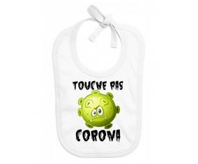 Touche pas Corona : Bavoir bébé
