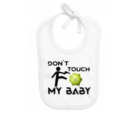 Corona Don't touch my baby : Bavoir bébé
