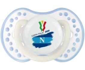 Coppa Italia 2020 Napoli : Blanc-cyan classique Tétine embout Lovi Dynamic
