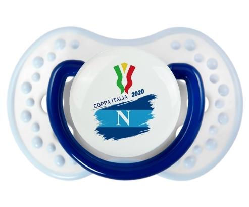 Coppa Italia 2020 Napoli : Marine-blanc-bleu classique Tétine embout Lovi Dynamic