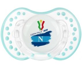 Coppa Italia 2020 Napoli : Retro-blanc-lagon classique Tétine embout Lovi Dynamic