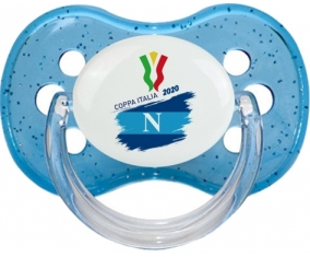 Coppa Italia 2020 Napoli : Bleu à paillette Tétine embout cerise