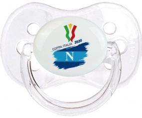 Coppa Italia 2020 Napoli : Transparent classique Tétine embout cerise