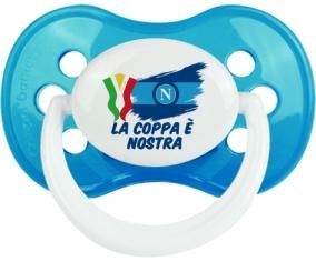 Napoli : La coppa è nostra : Cyan classique Tétine embout anatomique