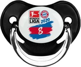 Bayern München 8 bundesliga : Noir classique Tétine embout physiologique