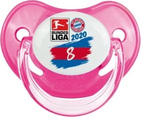 Bayern München 8 bundesliga : Rose classique Tétine embout physiologique