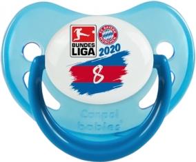 Bayern München 8 bundesliga : Bleue phosphorescente Tétine embout physiologique