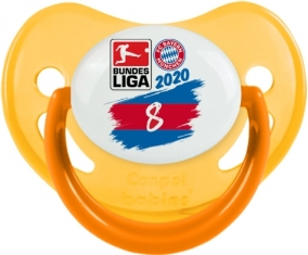 Bayern München 8 bundesliga : Jaune phosphorescente Tétine embout physiologique