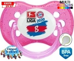 Bayern München 8 bundesliga : Sucette Cerise personnalisée