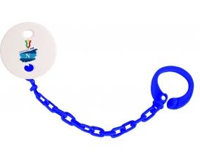 Attache-tétine Coppa Italia 2020 Napoli couleur Marine