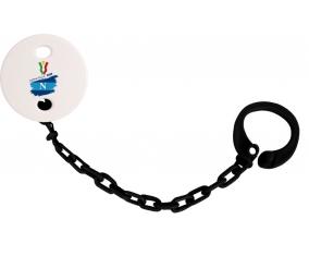 Attache-tétine Coppa Italia 2020 Napoli couleur Noire