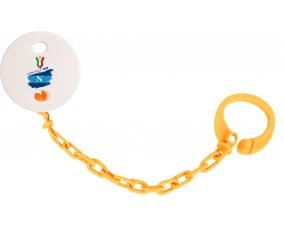 Attache-tétine Coppa Italia 2020 Napoli couleur Orange