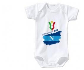 Body bébé Coppa Italia 2020 Napoli 3/6 mois manches Courtes