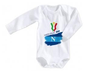Body bébé Coppa Italia 2020 Napoli 3/6 mois manches Longues