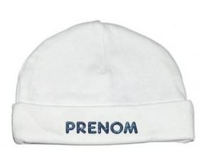 Bonnet Prénom ou texte personnalisée alphabet style-15