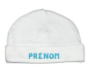 Bonnet Prénom ou texte personnalisée alphabet style-18