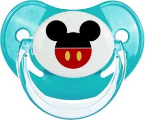 Disney Mickey short rouge : Bleue classique Tétine embout physiologique