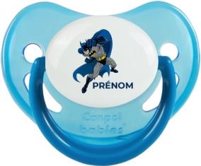 Batman design-2 : Bleue phosphorescente Tétine embout physiologique