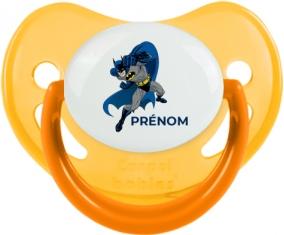 Batman design-2 : Jaune phosphorescente Tétine embout physiologique