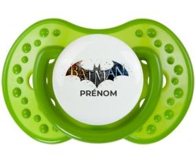 Batman logo design-1 avec prénom : Sucette LOVI Dynamic personnalisée