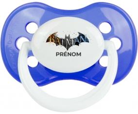 Batman logo design-1 avec prénom : Sucette Anatomique personnalisée