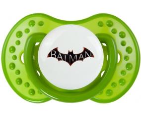 Batman logo design-2 : Vert classique Tétine embout Lovi Dynamic