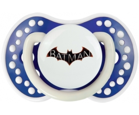 Batman logo design-2 : Bleu-marine phosphorescente Tétine embout Lovi Dynamic