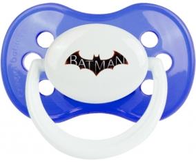 Batman logo design-2 : Sucette Anatomique personnalisée