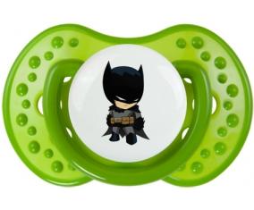 Batman kids logo : Vert classique Tétine embout Lovi Dynamic