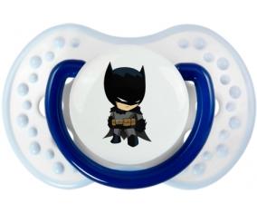 Batman kids logo : Marine-blanc-bleu classique Tétine embout Lovi Dynamic