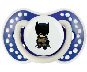 Batman kids logo : Bleu-marine phosphorescente Tétine embout Lovi Dynamic