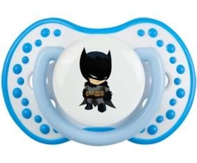 Batman kids logo : Blanc-bleu phosphorescente Tétine embout Lovi Dynamic
