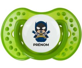 Batman kids logo design-3 avec prénom : Sucette LOVI Dynamic personnalisée