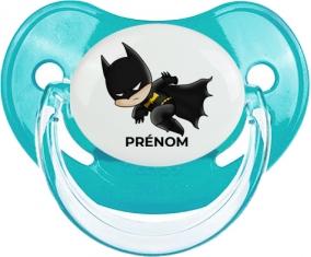 Batman kids logo design-4 avec prénom : Sucette Physiologique personnalisée
