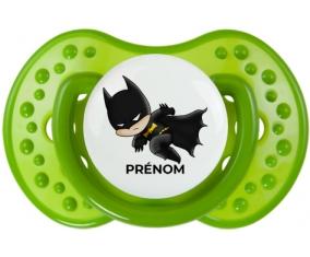 Batman kids logo design-4 avec prénom : Sucette LOVI Dynamic personnalisée