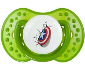 Bouclier Captain America casse le mur : Vert classique Tétine embout Lovi Dynamic