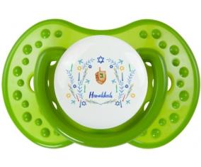 Judaisme : Hanoukkia design-3 : Vert classique Tétine embout Lovi Dynamic