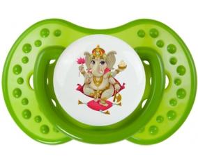 Hindouisme Ganesha : Vert classique Tétine embout Lovi Dynamic